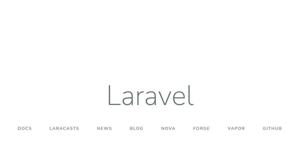 Welcome Laravel 7 di CloudPanel