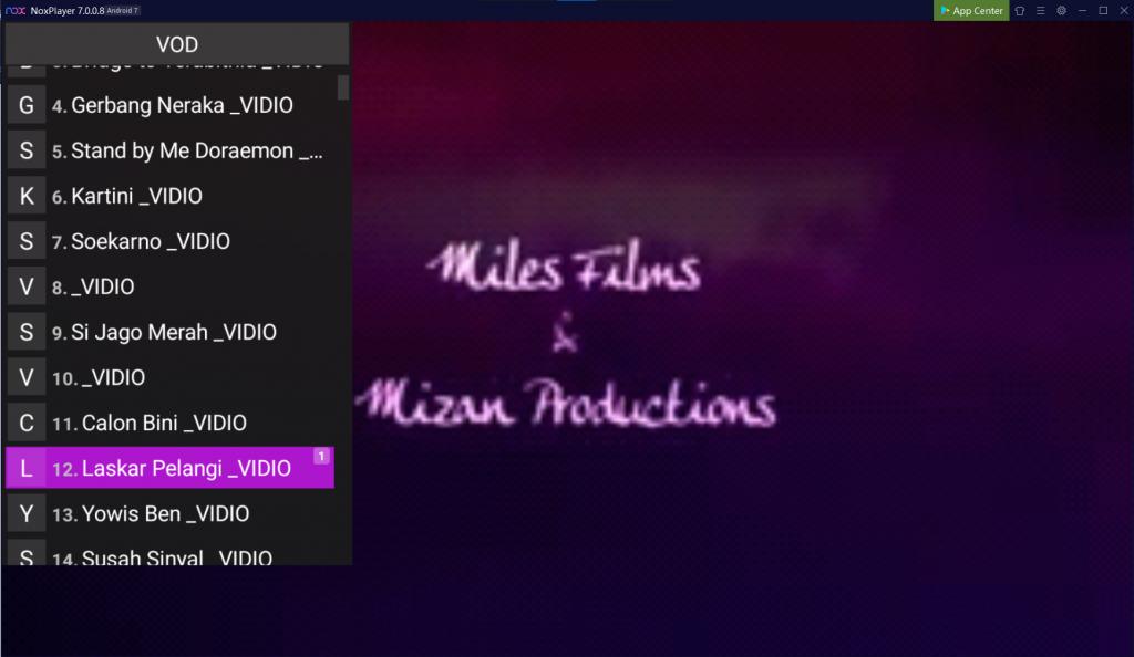Kategori video indonesia