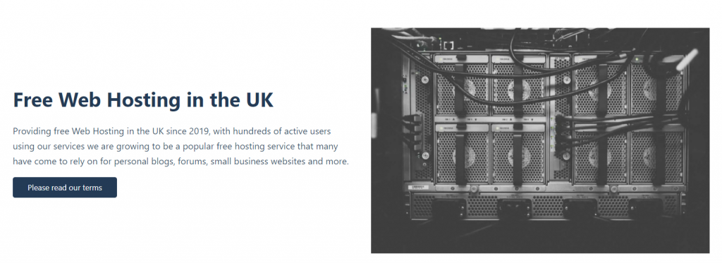 Free2host offers free Shared, Reseller and VPS services to residents in the UK/EU